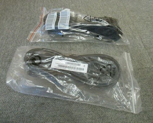 2 x New Fujitsu T26139-Y1968-M4-Z111 4M Power Unit Extension C14 to C13 Cable